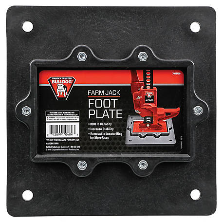 Bulldog Farm Jack Foot Plate