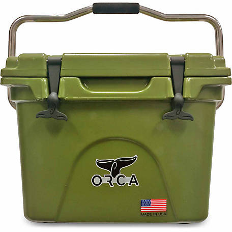 ORCA 20 qt  Ice Retention Hard Cooler at Tractor Supply Co