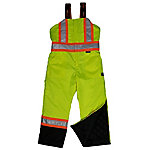 Work King Men's Hi-Vis Lined Bib Overall