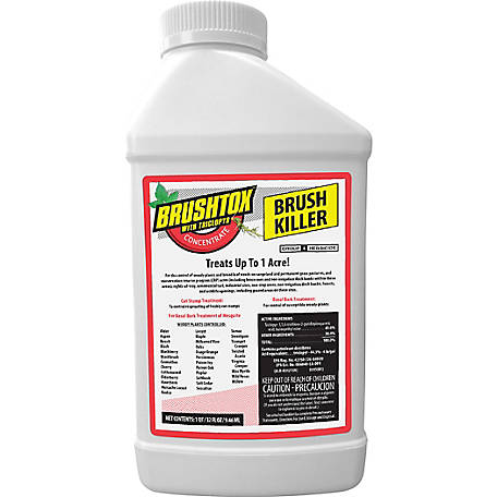 Brushtox Brush Killer with Triclopyr, Concentrate, 32 oz., 75260