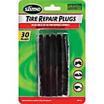 Slime Tire Repair Plugs, Black, Pack of 30