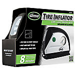 Slime Tire Inflator, 12V with Gauge and Light
