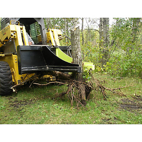 Brush Grubber Hydraulic Post/Tree Puller
