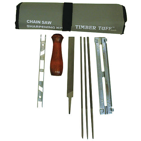 Timber Tuff 8 PC Chainsaw Sharpening Kit