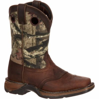 Durango Big Boy's Lil' Durango 8 in. Saddle Western Boot | Tuggl