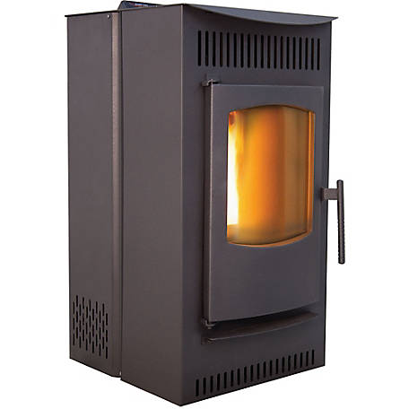 Castle Pellet Stoves Serenity Freestanding 1500 sq. ft. Pellet Stove