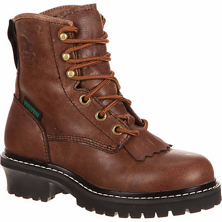 Georgia Boot Youth 5 in. Logger Boot