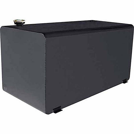 Dee Zee Transfer Tank, 108 gal. Safety Fill Capacity, Steel, Black