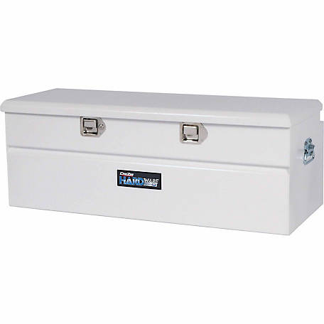 Dee Zee Hardware Series 46 in. Utility Chest, 8 cu. ft., Textured White