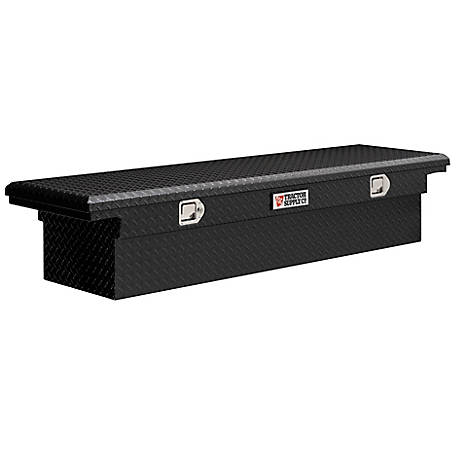 Tractor Supply Textured Black Low Profile Full Size Single Lid Truck Box
