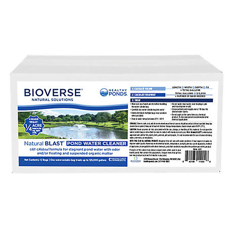 Bioverse Natural Blast, Pack of 12, 11004
