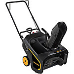 Poulan PRO 136cc 21 in. Single-Stage Snow Blower, PR100