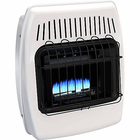 Dyna-Glo BF10NMDG Blue Flame Natural Gas Vent Free Wall Heater, 10,000 BTUs