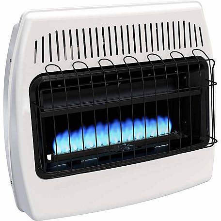 Dyna Glo Bf30pmdg Blue Flame Propane Gas Vent Free Wall