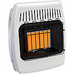 Dyna-Glo IR12NMDG-1 Infrared Natural Gas Vent Free Wall Heater, 12,000 BTUs