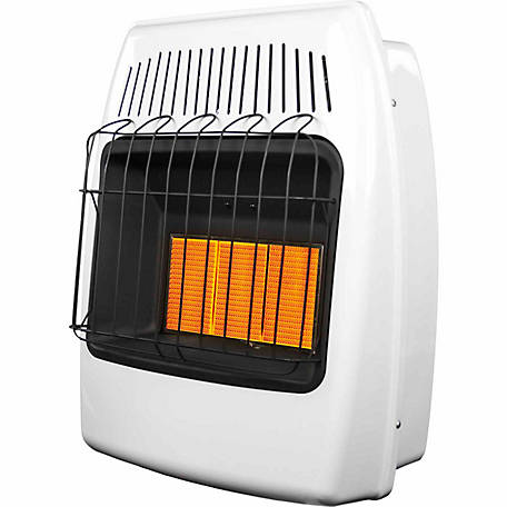 Dyna-Glo IR18PMDG-1 Infrared Propane Gas Vent Free Wall Heater, 18,000 BTUs