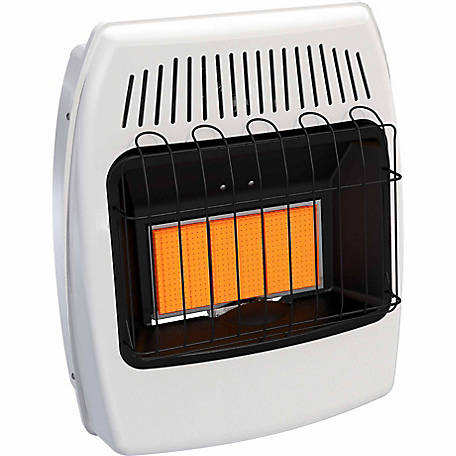 Dyna-Glo IR18NMDG-1 Infrared Natural Gas Vent Free Wall Heater, 18,000 BTUs
