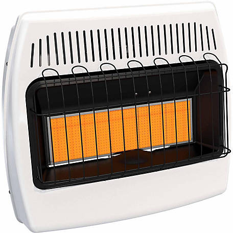 Dyna-Glo IR30NMDG-1 Infrared Natural Gas Wall Heater, 30,000 BTU