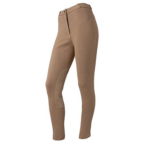 Tough-1 Women's Breeches with Suede Knee