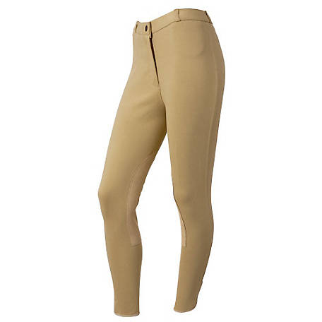 Tough-1 Women's Breeches with Clarino Knee