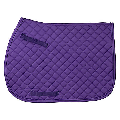 Tough-1 Quilted Square English Saddle Pad