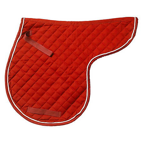 Tough-1 Contour Quilted Cotton Comfort Saddle Pad