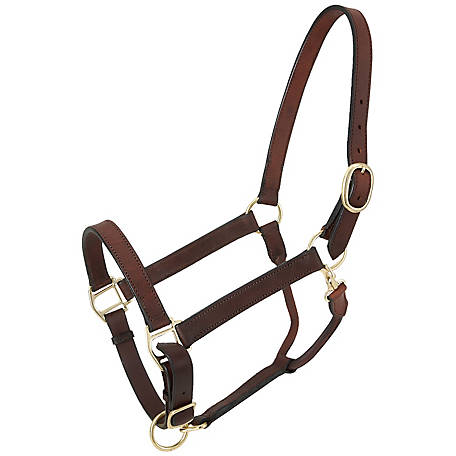 Tough-1 Churchill Stable Halter with Snap
