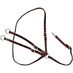 Tough-1 Leather Martingale Harness