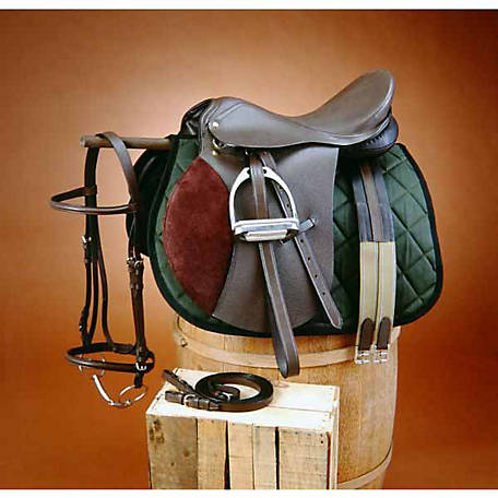 Tough-1 Regency All Purpose Saddle Package, English