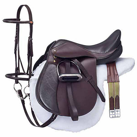 Tough-1 Regency Event Winner Saddle Package, English