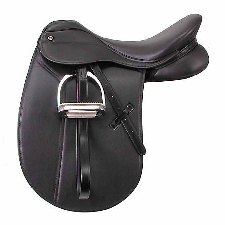 Tough-1 Newport Dress Saddle Package, English