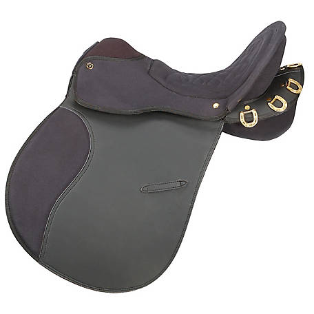 Tough-1 Eclipse Pro Am Trail Saddle without Horn 6-Piece Package, Endurance