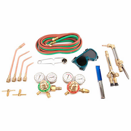 Forney 1707 Deluxe Oxygen Acetylene Torch Kit, Medium Duty