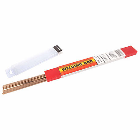 Forney 48571 Super Sil-Flo Brazing Rod, 1/8 in., 1/2 lb.