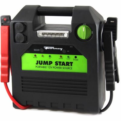 Buy Forney 52731 12-Volt Jump Start Battery Booster Pack; 18A Hour Online
