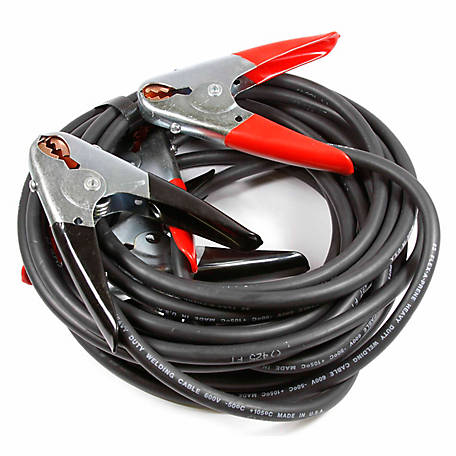Forney 52877 Heavy-Duty #2 Battery Jumper Cables, 20 ft.