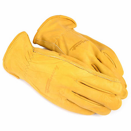 Forney Men's Premium Cowhide Leather Driver Gloves