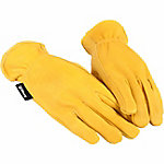 Forney Women's Premium Deerskin Full Grain Leather Driver Gloves