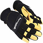 Forney Women's Premium Pigskin Leather Stretchable Driver Gloves
