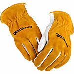 Forney Men's 53125 Cowhide Leather Driver Gloves, X-Large