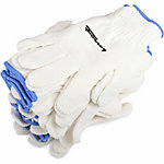 Forney Unisex 53269 Seamless String Knit Gloves, Large, 12-Pack
