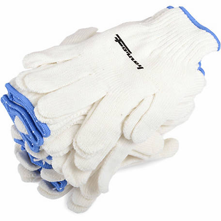 Forney 53272 Seamless String Knit Gloves, X-Large, 12-Pack