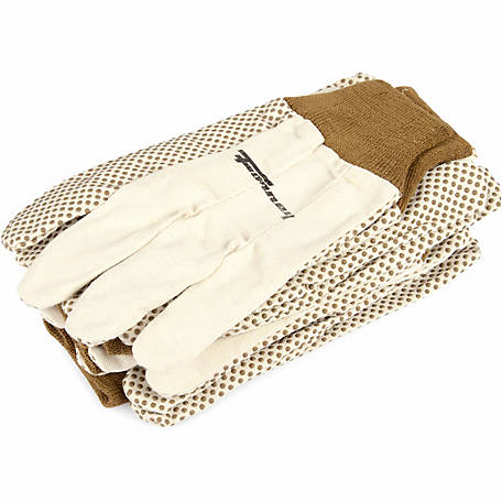 Forney Unisex 53318 Cotton Canvas Gloves, Large, 6-Pack