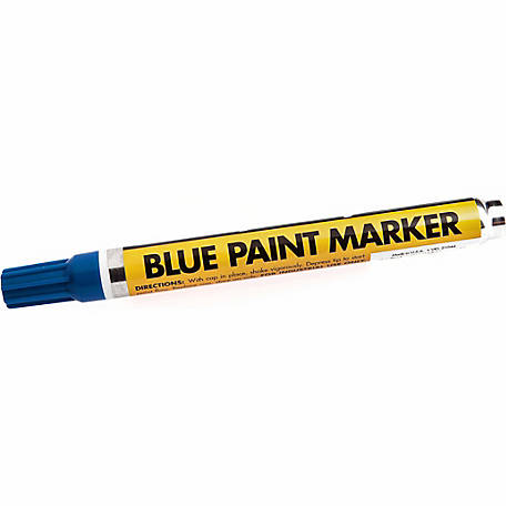 Forney 70821 Blue Paint Marker