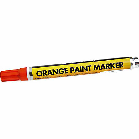 Forney 70825 Orange Paint Marker
