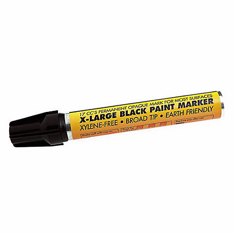 Forney 70829 Black Paint Marker, Extra-Large,