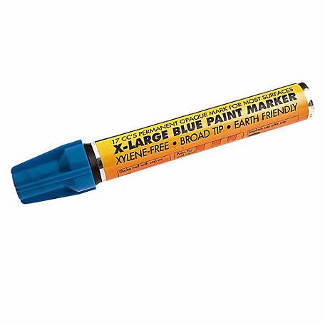 Forney 70831 Blue Paint Marker, Extra-Large