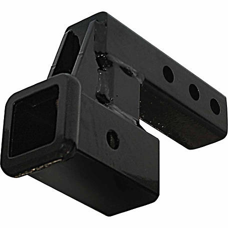 Meyer Products 2 in. Receiver Hitch Extension with 4 in. Drop-Rise