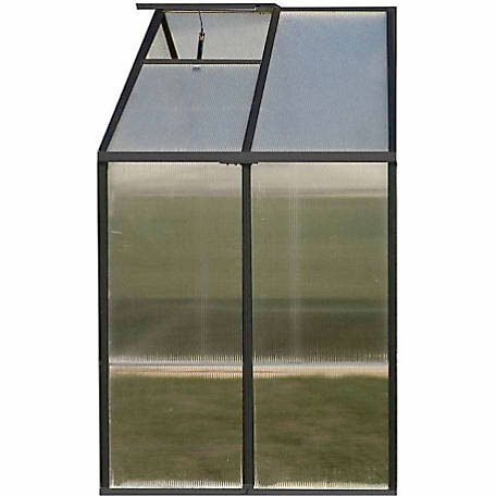 Monticello 4 ft. Premium Extension Kit for Black Greenhouse