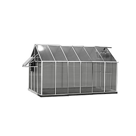 Monticello Mojave 8 ft. x 12 ft. Aluminum Greenhouse